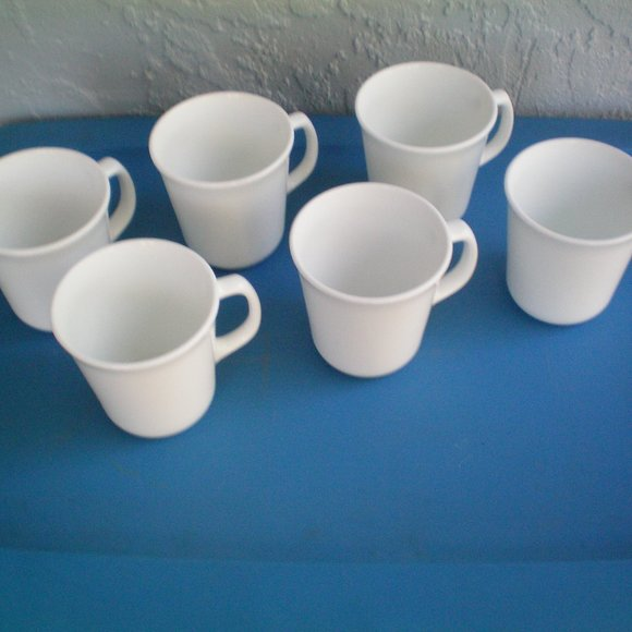 Corning Other - Vintage Lot of 6 Corning  Made In USA, Milk Glass